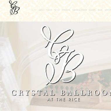 Crystal Ballroom Houston wedding vendor preview