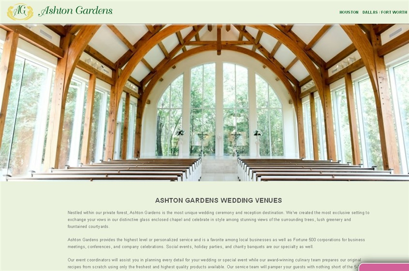 Ashton Gardens wedding vendor photo