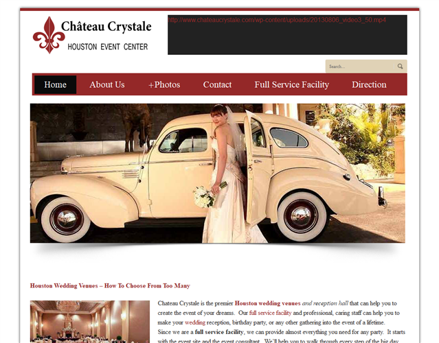 Chateau Crystale wedding vendor photo