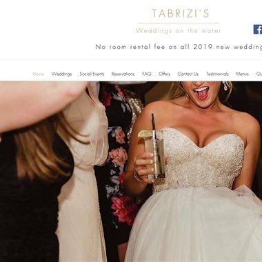 Tabrizi's wedding vendor preview