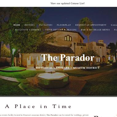 The Parador  wedding vendor preview