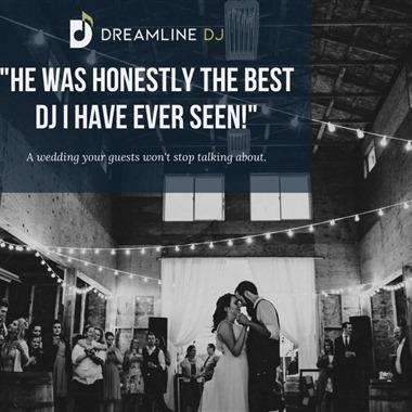 Dreamline Dj wedding vendor preview