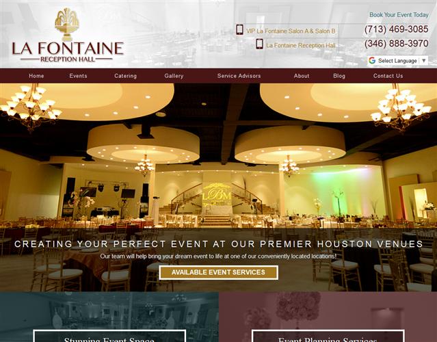 La Fontaine Reception Halls wedding vendor photo