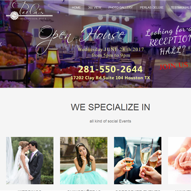 Perlas Hall wedding vendor preview