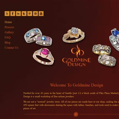 Goldmine Design Jewelers wedding vendor preview