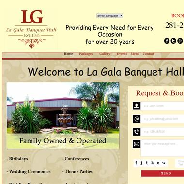 La Gala Hall wedding vendor preview