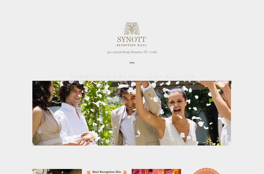 Synott Hall wedding vendor photo