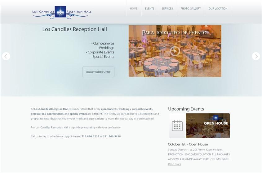 Los Candiles Reception Hall wedding vendor photo