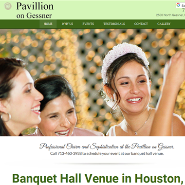 Pavillion on Gessner wedding vendor preview