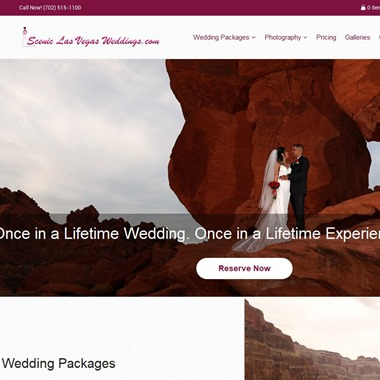 Scenic Las Vegas Weddings wedding vendor preview