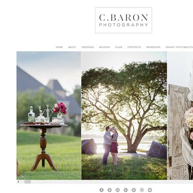 C Baron Photography wedding vendor preview