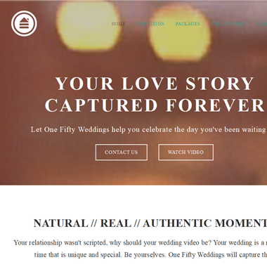 One Fifty Weddings  wedding vendor preview