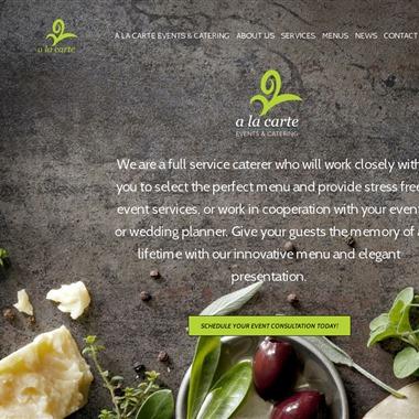 A La Carte Events & Catering wedding vendor preview