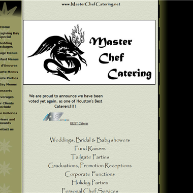 Master Chef Catering wedding vendor preview
