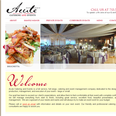 Acute Catering wedding vendor preview