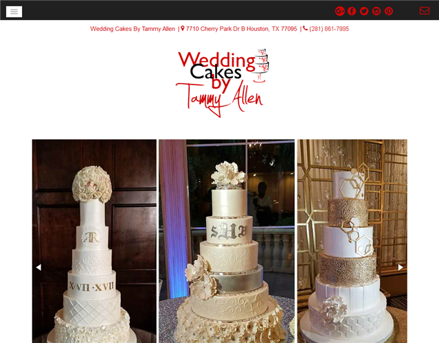Wedding Cake Houston Tx wedding vendor photo