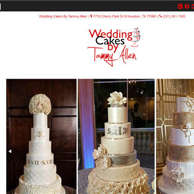 Wedding Cake Houston Tx wedding vendor preview