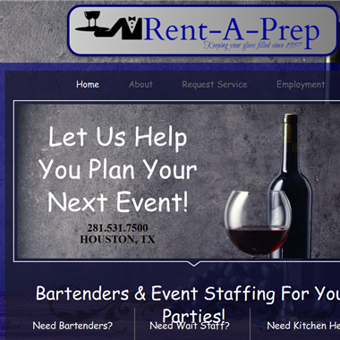 Rent-A-Prep wedding vendor preview