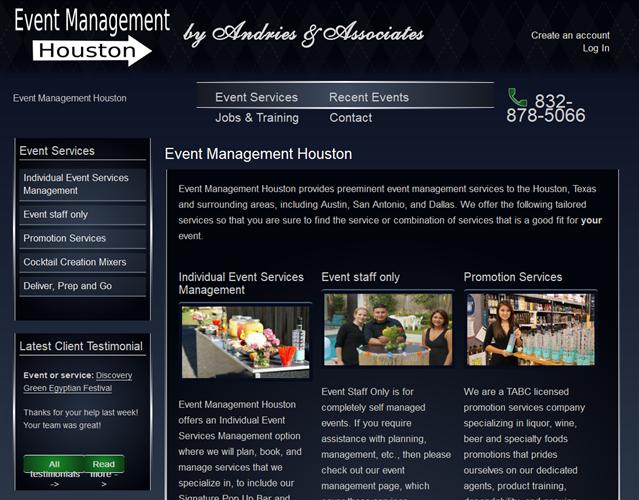Houston Events Staffing  wedding vendor photo