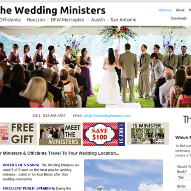 The Wedding Ministers wedding vendor preview