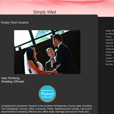 Simply Wed Houston wedding vendor preview