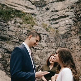 Photo of Wedding By Jennbrook Test, a wedding Officiants in Salt Lake City