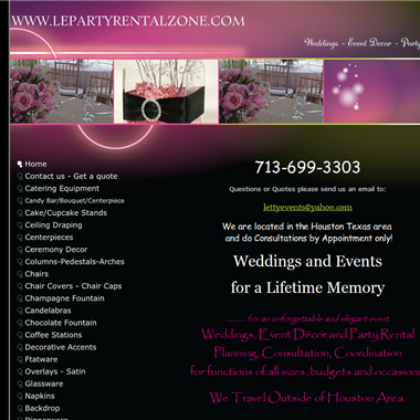 Le Party Rental Zone wedding vendor preview