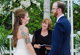 Interview with Janis Houston, a wedding officiant in Florida