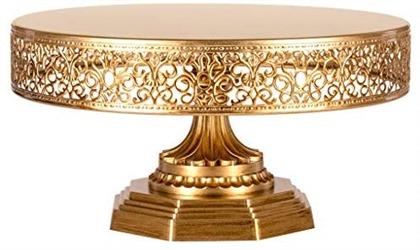 Amalfi Decor 12 Inch Gold Cake Stand
