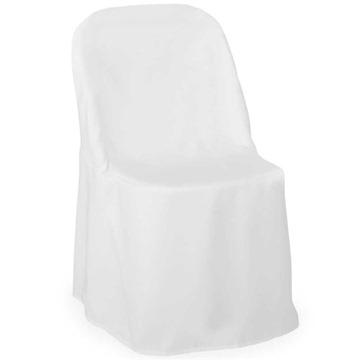 Lann's Linens - 10 Elegant Wedding/Party Folding Chair Covers