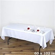 LinenTablecloth 60 x 102-In...
