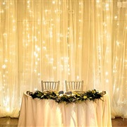 LE LED Curtain Lights, 19.7...