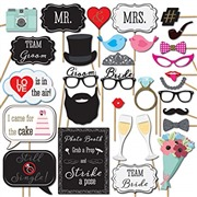 Wedding Photo Booth Props 3...