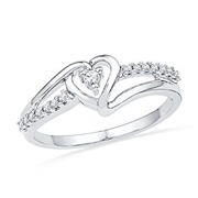 D-GOLD Sterling Silver Whit...