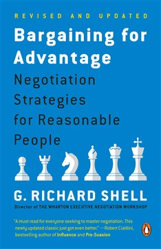 Bargaining for Advantage: Negotiation Strategies for Reasonable People - Paperback