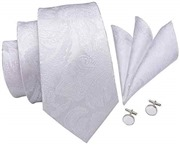 Hi-Tie Mens Silver Black Gr...