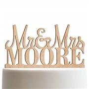 Mr & Mrs Personalized Weddi...