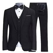 Men's Slim Fit 3 Piece Suit...