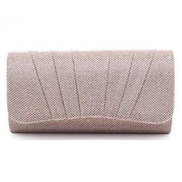 Damara Womens Perfectly Pleated Clutch Party bags