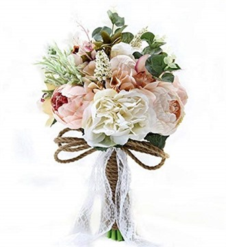 JACKCSALE Wedding Bouquet Bride Bridal Brooch Bouquet Bridesmaid Bouquet Valentine's Day Confession (D520)