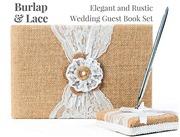 Rustic Wedding Guest Book M...