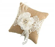 Lillian Rose Rustic Burlap ...