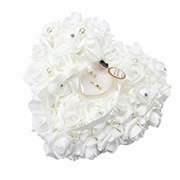 Yosoo Wedding Ring Pillow, ...