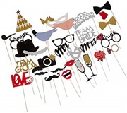31-pieces Photo Booth Props...