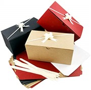 Colored Gift Boxes 9 x 4.5 ...