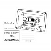50 Song Request Cassette Ta...