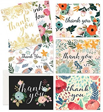Thank You Cards - 37 Beautiful Thank You Card