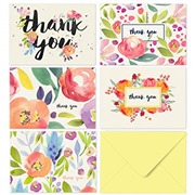 40 Thank You Cards with Env...
