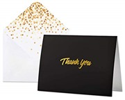 100 Thank You Cards with En...