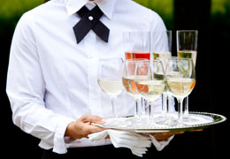 wedding bartenders and waiters photo